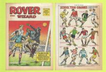 Rover Comic England v Romania Jack Charlton May 3rd 1969